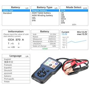 Image 3 - Analizador de cargador de batería de coche, 12V, V311B, herramientas de diagnóstico automático automotriz, Carga de coche, prueba de carga Cricut
