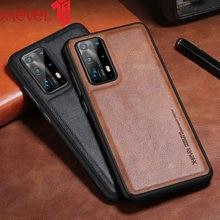 Кожаный чехол x level для huawei p40 pro plus p30 оригинальный