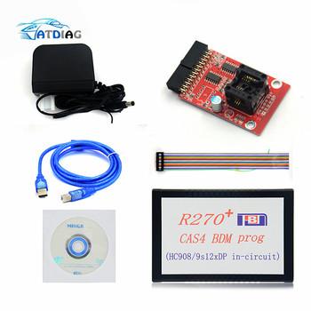 2019 nowo 1 20 R270 + V1 20 Auto R270 CAS4 BDM Programmer R270 + CAS4 BDM R270 PLUS tanie i dobre opinie ATDIAG R270+ V1 20 0inch plastic Testery elektryczne i przewody pomiarowe 0 5kg stable