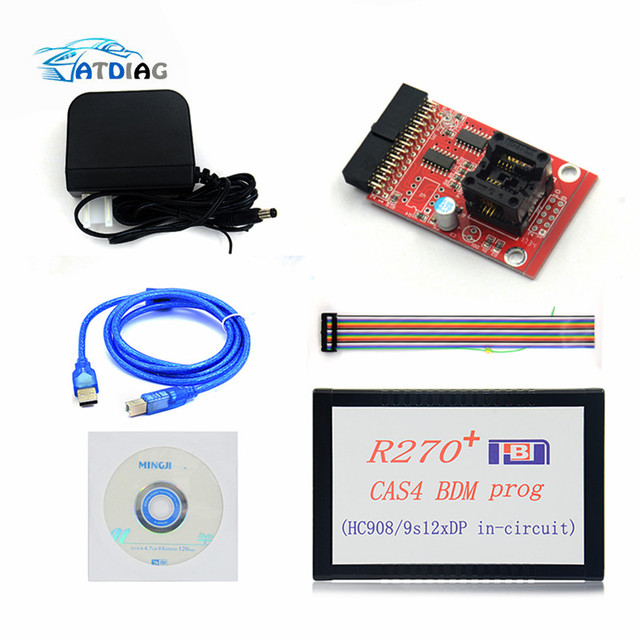 2020 Newly 1.20 R270+ V1.20 Auto R270 CAS4 BDM Programmer R270+ CAS4 BDM R270 PLUS