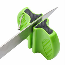 Sharpening Two-Stage Butterfly-Type Whetstone-Sharpener Stones Ceramic-Rod Portable