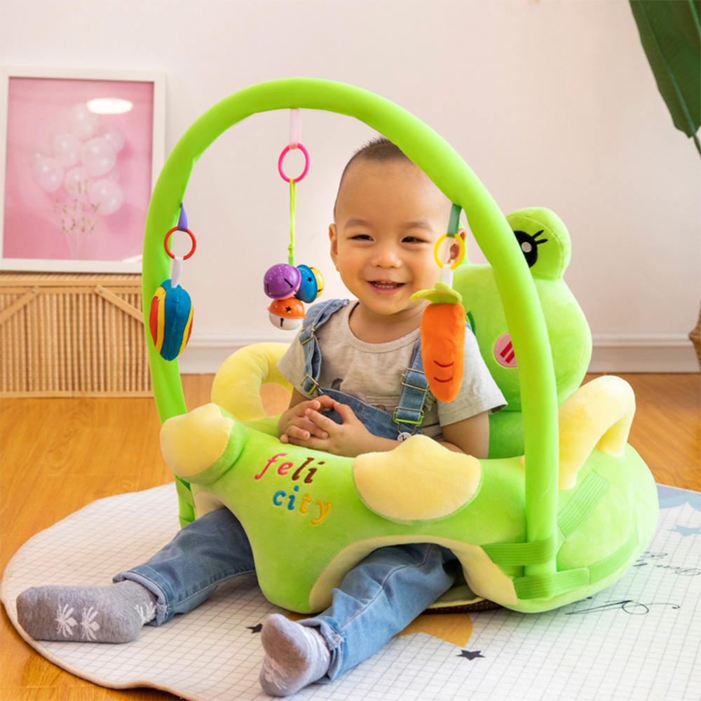 Infant Support Seat Learning Sitting Baby Plush Floor Cute Animal