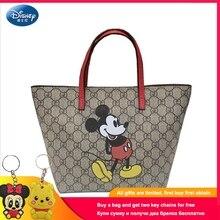 Disney New Mickey Mouse Handbag Shoulder Lady Cartoon Female Bag Large Capacity Handbags Fashion Messenger