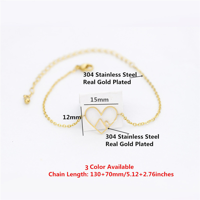Rose-Gold-Mountain-Heart-Bracelets-For-Women-Hiking-Ski-Nature-Yoga-Love-Jewelry-Stainless-Steel-Charm (3)