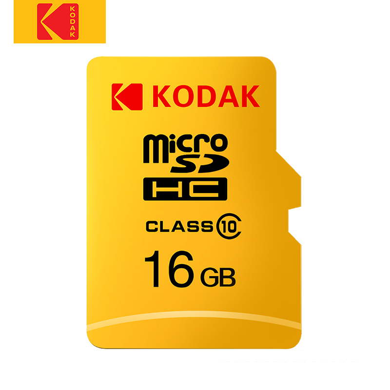 Kodak U1 Micro SD Card 128GB 64GB 32GB Gold Flash Memory Card High Speed TF/SD Card Micro Sd Class 10 Tarjeta De Memoria