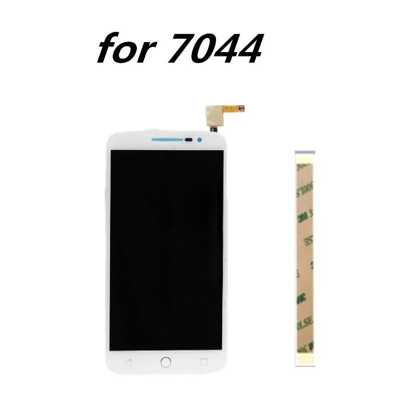 5.0 pollici Per trasporto libero di Alcatel One Touch Pop 2 Premium 7044 OT7044 7044X 7044Y 7044K 7044A Display LCD + Touch pannello dello schermo di Ricambio