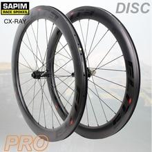 Elite Road Disc Brake Carbon Bicycle Wheel 30/35/38/45/47/50/55/60mm Tubular Clincher Tubeless With Sapim Spoke 700c Wheelset