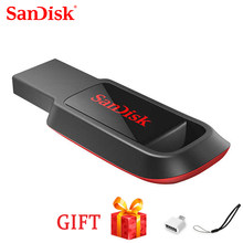 SanDisk-unidad Flash USB CZ61, memoria USB 128 memoria USB, 2,0 GB/64GB/32GB/16GB