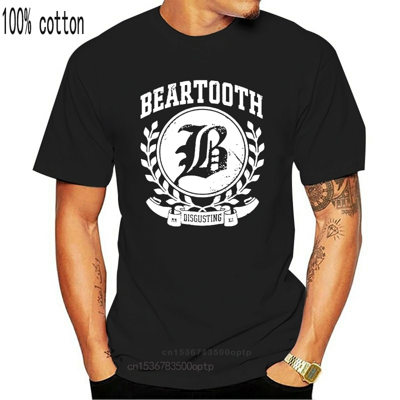 Beartooth Disgusting (Black) T-Shirt-New And Official