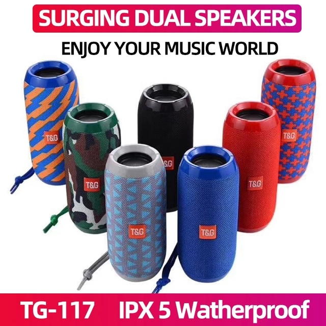 YABA Portable Bluetooth-compatible Speaker boombox Soundbar Subwoofer Outdoor Sports caixa de som Loudspeaker TF Card FM Radio 1