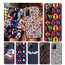 Captain America Marvel For Samsung Galaxy A01 A11 A12 A22 A21S A31 A41 A42 A51 A71 A32 A52 A72 A02S Soft Phone Case