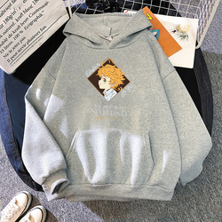 2021 New Japan Anime The Promised Neverland Norman Emma Ray Hoodies Sweat Capuche Toppies Manga Hoodied Graphic Top