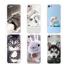 Phone Case Coque For iPhone xr 7 8 6 6S Plus xr XS MAX 5 5S Cute Animals Soft TPU Silicone Phone Cover For iPhone 8 7 Plus цена и фото