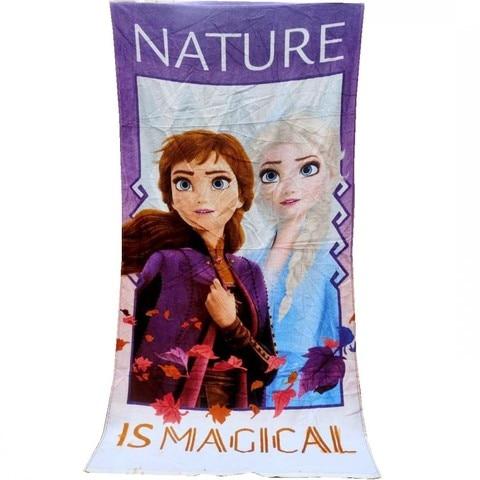 anna princesa algodao meninas criancas adolescentes 70x140cm toalha natacao