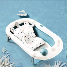 Support-Mat Bathtub-Seat Soft-Pillow Baby Shower Foldable Safety Security Newborn Non-Slip