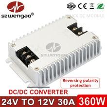 Dc 24 v 36v 48v 60v para dc 12 v 1a 3a 5a 8a 10a 20a 30a 40a step down conversor de energia 24 volts para 12 volts buck regulador de tensão