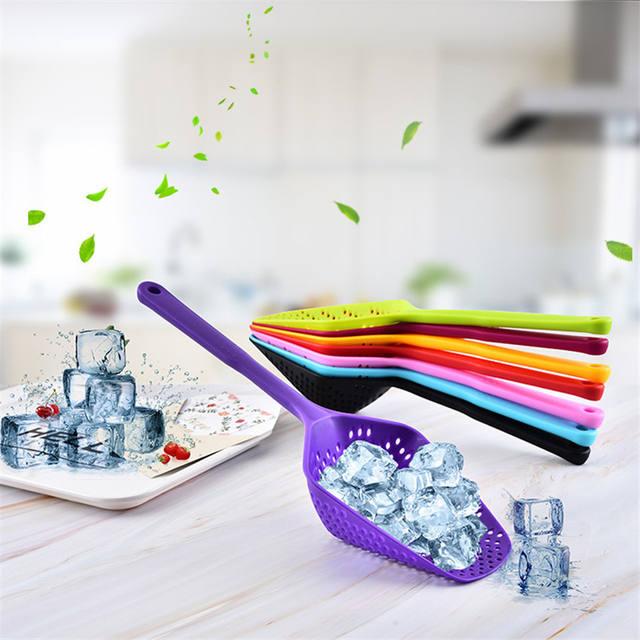 Nylon strainer, large spoon strainer kitchen accessories