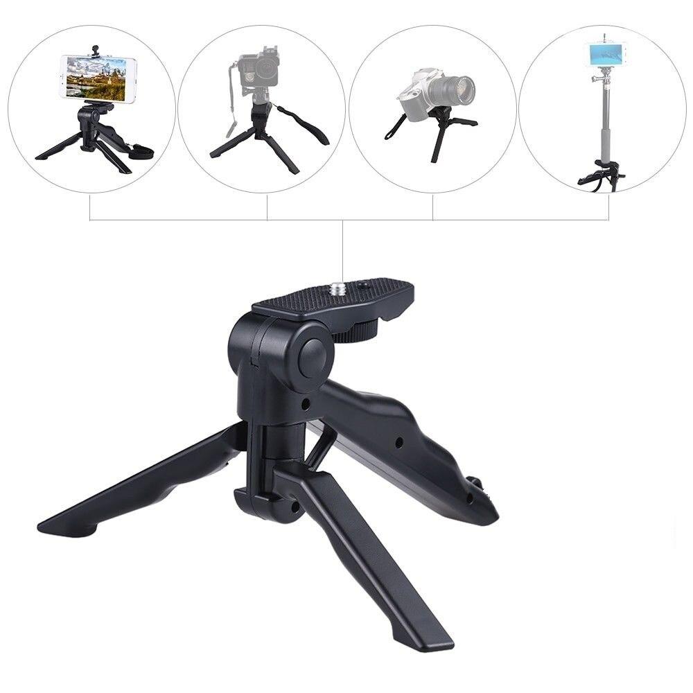 Подходит для камер Canon Sony Nikon Gopro мини-штатив универсальная ручная настольная селфи-палка стабилизатор кронштейн камеры