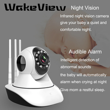 цена на WakeView 1080P IP Camera Wireless Home Security Camera Surveillance Camera WiFi IR CUT Night Vision CCTV Camera 2MP Baby Monitor