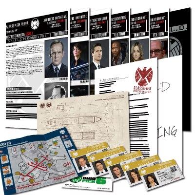 SHIELD Agent Profile SHIELD Identity ID Card Marvel Around The Avengers
