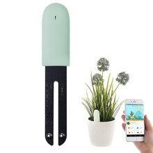 Youpin hhcc flor cuidados flora monitor de plantas digitais grama do solo luz água inteligente testador sensor versão internacional