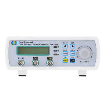 new 200MSa/s 25MHz Dual-channel Signal Generator High Precision Arbitrary Waveform Frequency generator Digital DDS Signal source