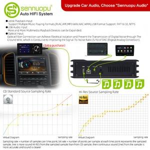 Image 2 - Sennuopu רכב DSP מגבר 8 ערוצים אקולייזר מעבד USB נגן עם LCD מרחוק בקר