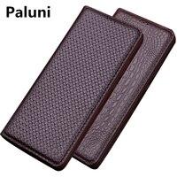 Genuine Leather Flip Cover Case For Meizu Pro 7 Plus Phone Bag For Meizu Pro 7 Flip Leather Case Kickstand Phone Case Funda Capa