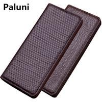 Genuine Leather Flip Cover Case For Asus Zenfone Max Pro M1 ZB602KL/Zenfone Max M1 ZB555KL Flip Leather Case Kickstand Funda