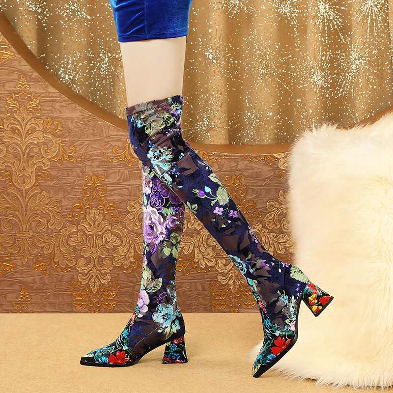 leather heels toe women