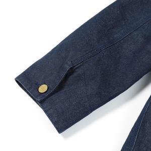 Image 4 - SIMWOOD 2020 hiver nouveau épais polaire manteaux hommes denim shearling veste de haute qualité grande taille manteaux marque vêtements I980629