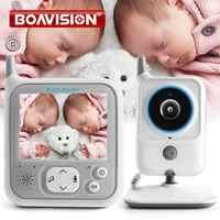 3,2 Inch LCD Video Baby Monitore Wireless Babysitter Zwei Weg Audio Nacht licht Temperatur Pet Baby Kamera Nanny Musik VB607