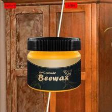 1 PCS Wood Seasoning Beewax Wood Care Wax Solid Wood Maintenance Cleaning Furnit