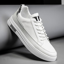 New men's small white shoes wholesale trend Korean spring student board shoes leisure running men's shoes