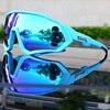 Ciclismo eyewear esportes dos homens óculos de ciclismo mountain bike ciclismo óculos mulher ciclismo óculos uv400 5 lente 22