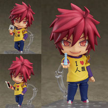 NO GAME NO LIFE Shiro 653/Sora 652 Nendoroid Action Figure Collectible Para Crianças Presentes Brinquedos Brinquedos(China)
