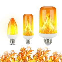 2021 Новый светодиодный динамический с эффектом пламени светильник