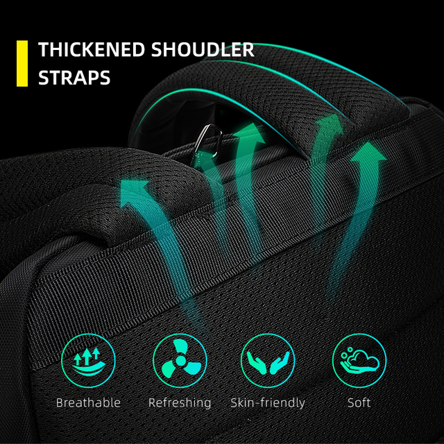 Tigernu Backpack Men Casual Waterproof Laptop Bag School Bags For Teenager Male Travel Luggage Bag High   Calm and Carry On