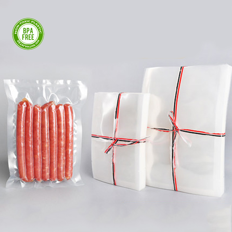 Vacuum Bags For Food 100PCS /Lot BPA Free Food Grade Storage Film Heated Freezer Bags Kitchen Packaging Bags For Vacuum Sealer
