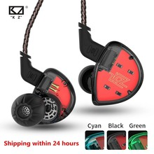 Kz Es4 In-Ear Oortelefoon Balanced Armature Met Dynamische Driver Noise Cancelling Headset Met Microfoon Kz As10 Zs5 Zs6 zs10 Ba10