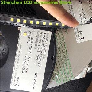 Image 5 - 1000 قطعة ل LG 3535 2 واط 6 فولت 240ma 3535 SMD LED استبدال LG inنوت k تلفاز LCD الضوء الخلفي الخرز إضاءة خلفية للتلفاز ديود إصلاح تطبيق التلفزيون