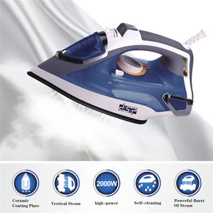 2000w Mini Portable Electric Steam Iron For Clothes Multifunctional Adjustable Ceramic soleplate iron for ironing Sonifer U3