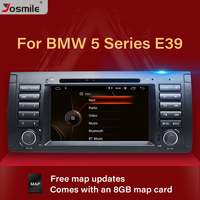 1 Din Car Stereo DVD Player For BMW E39 BMW X5 E53 M5 Audio Radio Multimeida GPS Navigation System Touch Screen Head Unit DAB+