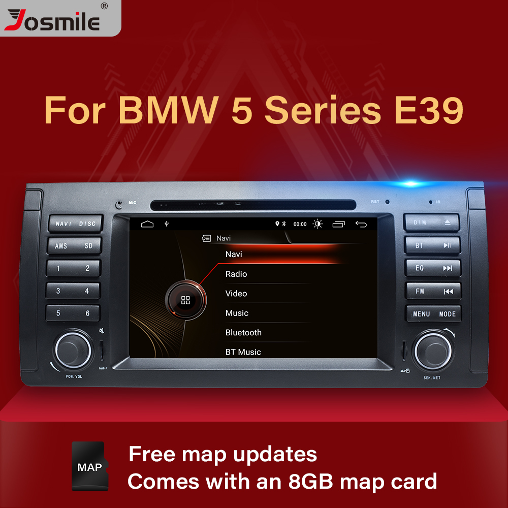 1 Din Car Stereo DVD Player For BMW E39 BMW <font><b>X5</b></font> <font><b>E53</b></font> M5 Audio Radio Multimeida GPS Navigation System Touch Screen Head Unit DAB+ image