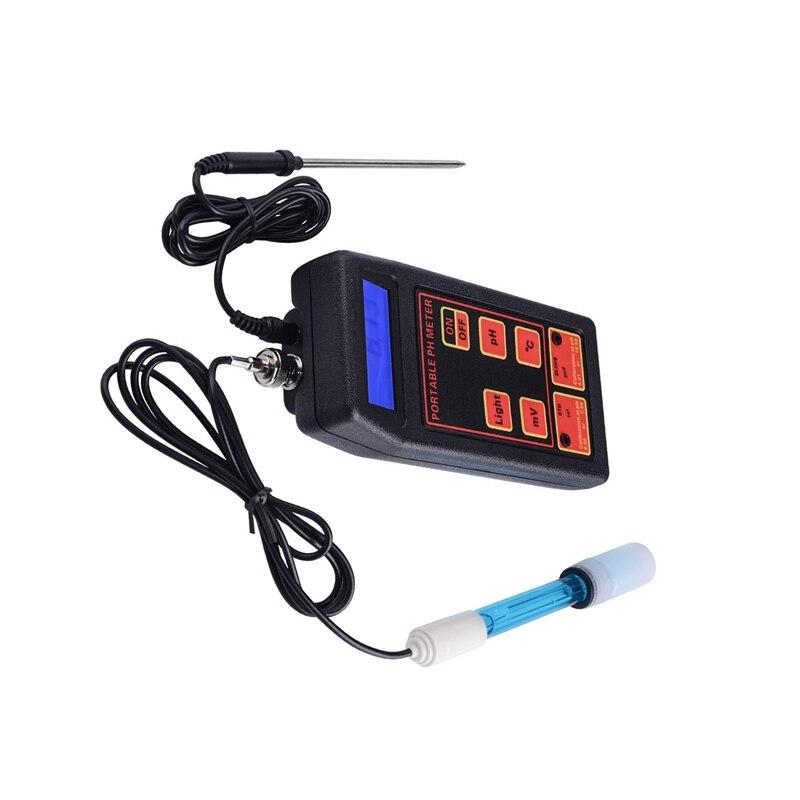 Digital Aquarium PH Meter Portable ORP/TEMP Meter Temeperature Tester Water Quality Monitor Detector Digital