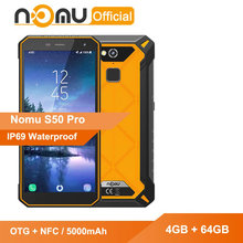 Nomu S50 Pro Shockproof Smartphone MTK6763 V/V Octa-Core 4GB 64GB Android 8.1 5000mAh OTG+NFC 16MP IP69 Waterproof Mobile Phone(China)
