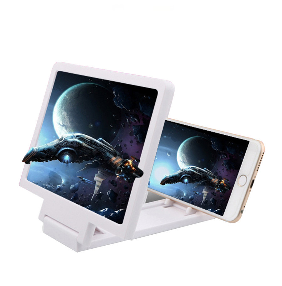 CARPRIE Newest Mobile Phone Screen Magnifier Eyes Protection Display 3D Video Screen Amplifier Folding Enlarged Expander Stand