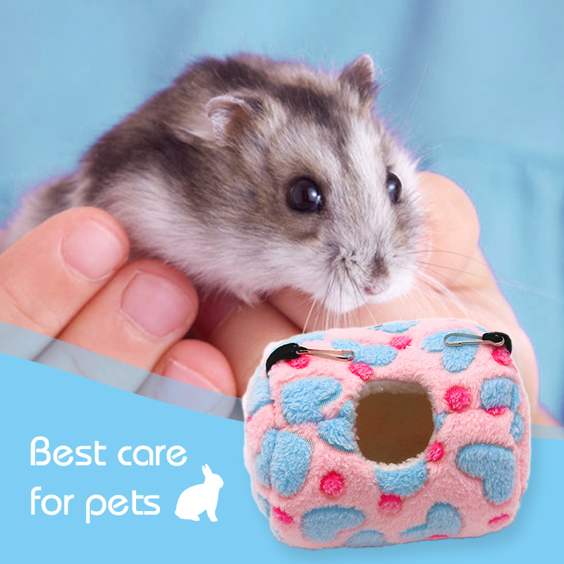 Small Animal Cages Soft Warm font b Pet b font Hamster Hammock Sleeping Mini Animals Mice