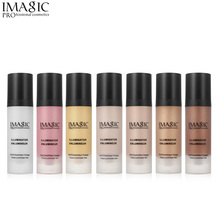 IMAGIC Make Up Face Gold Highlighter 3D Makeup Liquid Glow Illuminator Face Contour Brightener Glow Shimmer Liquid Highlighter nyx professional make up away we glow liquid highlighter