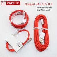 Oneplus Dash 4A Usb 3,1 tipo C Cable 6 8 Pro Dash Cable de carga 35CM/100cm/150cm/200cm para 1 + plus 7 7T 6T 5 T 5 t 3T